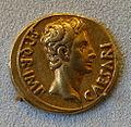 Aureus, Augustus, Nimes, 18-16 BC - Bode-Museum - DSC02592.JPG