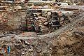 Ausgrabung auf der Baustelle Schloßstraße (04) (26405685160).jpg