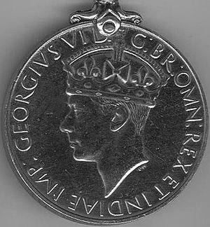 Australia Service Medal 1939–1945 - Image: Australia Service Medal 1939 45 obv