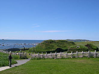 Leif Erikson - Modern recreation of the Norse site at L'Anse aux Meadows