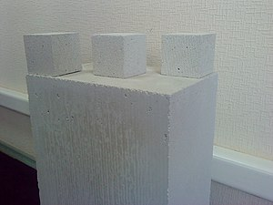 Autoclaved aerated concrete - Autoclaved aerated concrete tiles of various shapes and sizes