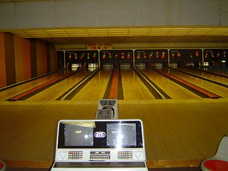 Automatic scorer - Automatic scorer for two lanes