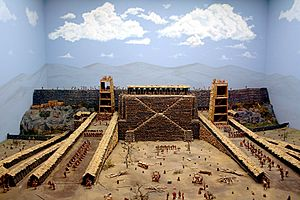 Avaricum - Model of the siege of Avaricum.