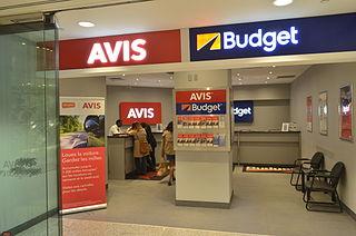 Avis Budget Group American rental car company