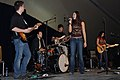 Ayla Brown performs for over 500 deployed military members DVIDS340403.jpg