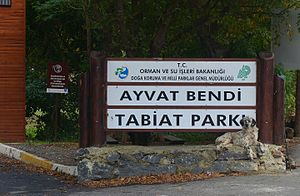 Ayvat Bendi Nature Park - Image: Ayvat Bendi Nature Park