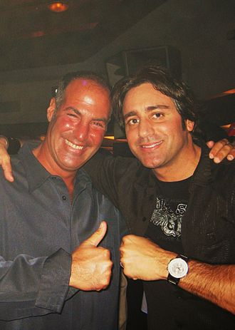Steve Azar - Steve Azar (right) with Sid Rosenberg, March 2009