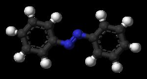 Azobenzene - Image: Azobenzene trans 3D balls