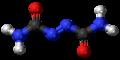 Azodicarbonamide 3D ball.png