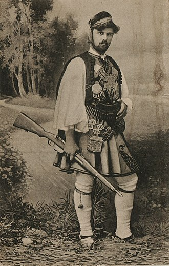 Aromanians in North Macedonia - Ioryi Mucitani, leader of the first Aromanian band in IMRO.