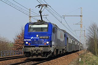 class of 67 French electric locomotives