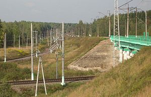 BMO and Moscow-Minsk Railway near Kubinka.JPG