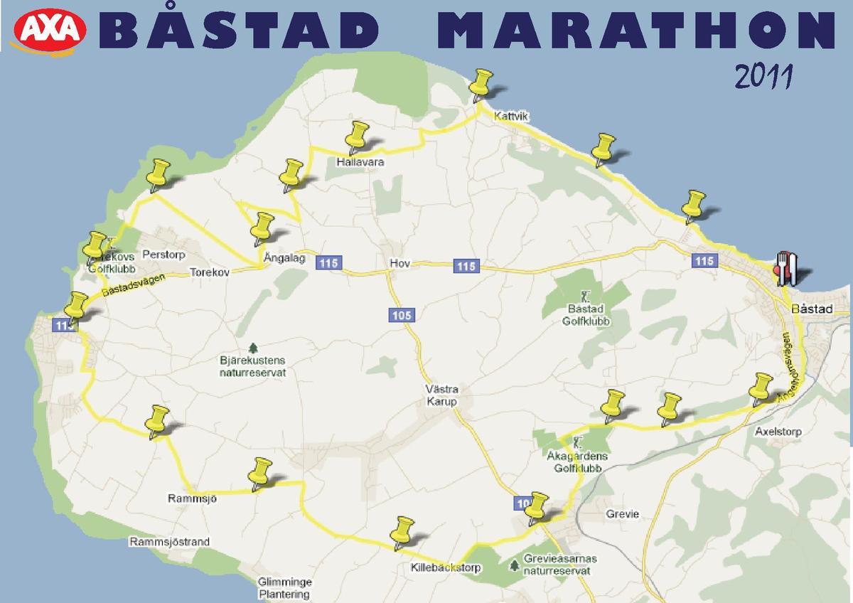 karta båstad Båstad Marathon – Wikipedia karta båstad