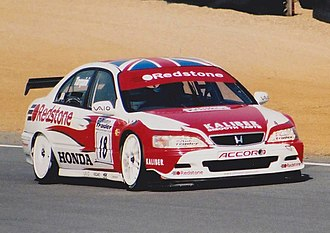 2000 British Touring Car Championship - Gabriele Tarquini finished 6th overall driving a Honda Accord