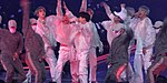 """BTS performing """"Mic Drop"""" during Love Yourself concert in Hong Kong, 24 March 2019 03.jpg"""