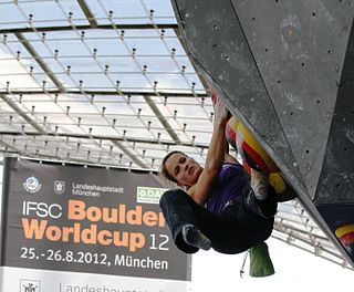 IFSC Climbing World Cup series of international competitions of sport climbing