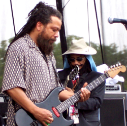 Bad Brains live 2007 am Virgin-Festival