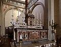 Badia a settimo, interno, altare maggiore su dis. attr. a pietro tacca, 1639m 01.jpg
