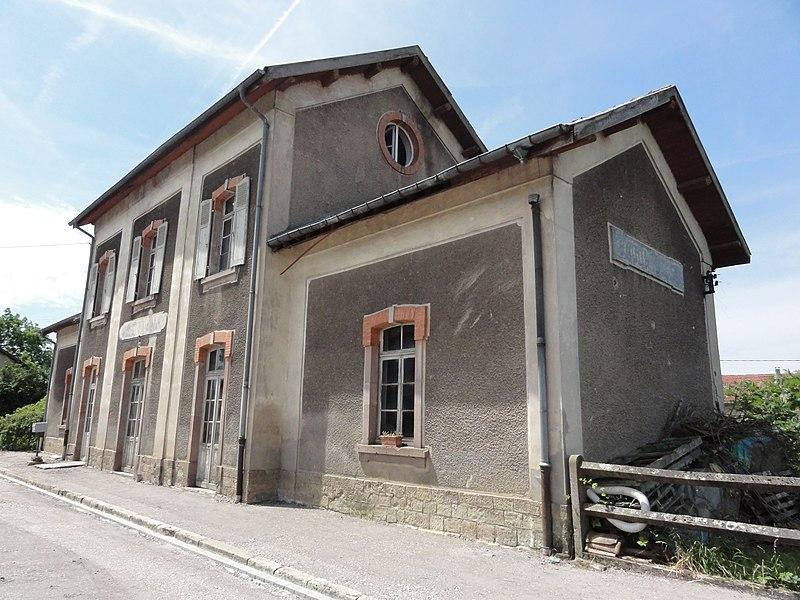 Badonviller (M-et-M) la gare