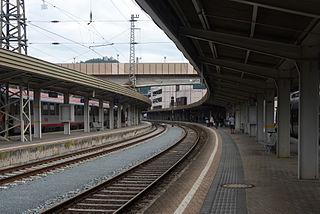 Kufstein railway station railway station