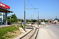 Bahnhofstraße Gmunden Schwellen.JPG