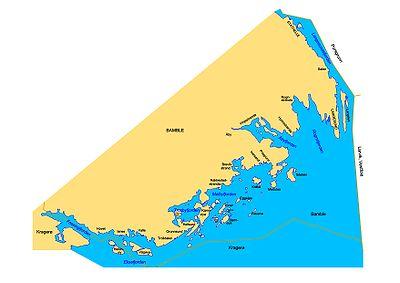 kart over kragerøskjærgården Liste over øyer i Telemark – Wikipedia kart over kragerøskjærgården