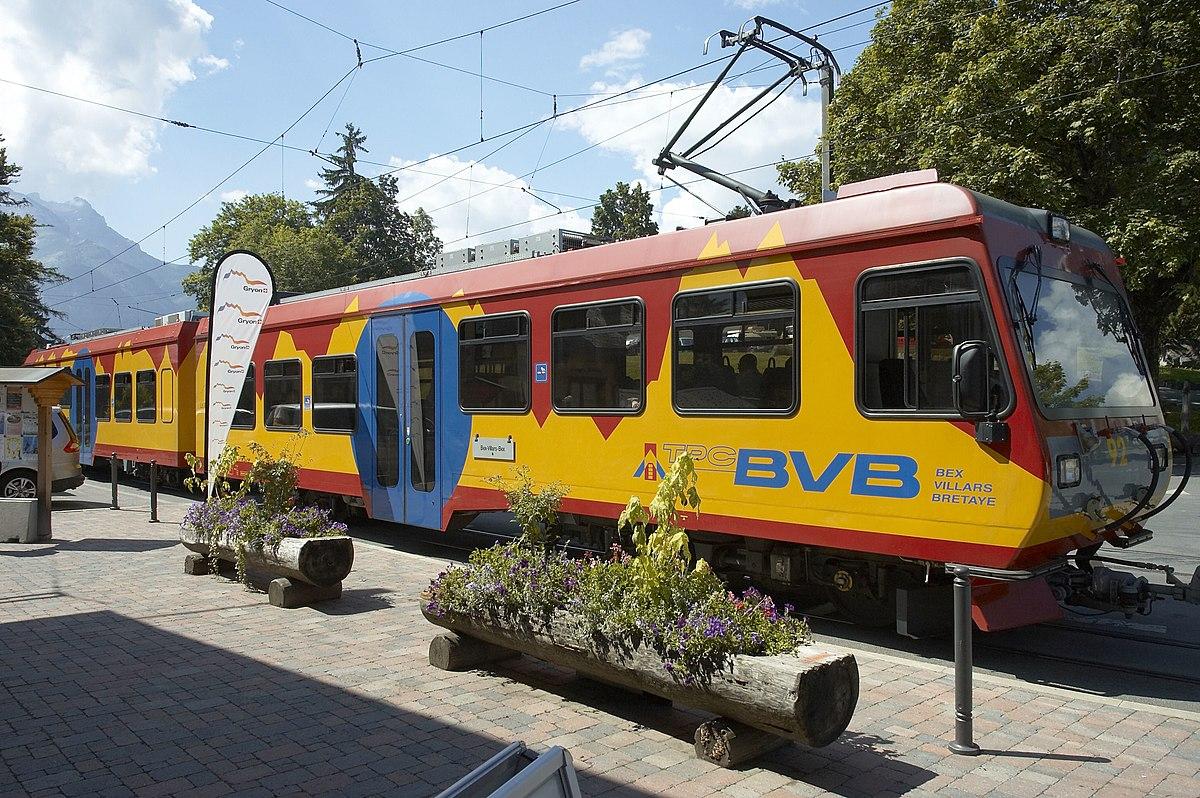Bex–Villars–Bretaye railway - Wikipedia