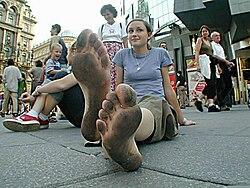 Barefoot in Berlin.JPG