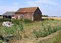 Barn and cart shed, North Drove, Quadring Fen, Lincs - geograph.org.uk - 217005.jpg