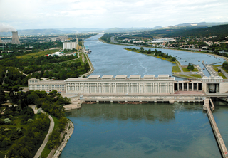 Donzère-Mondragon Dam