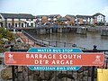 Barrage South, Water Bus Stop - geograph.org.uk - 1585665.jpg