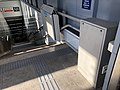 Barrier-free facilities at Exit F of Beijing Subway Chongwenmen Station.jpg