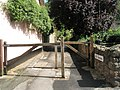 Barriers at the western end of Mill Gardens - geograph.org.uk - 924868.jpg