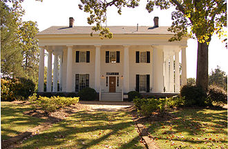 Antebellum architecture - Barrington Hall is one classic example of an antebellum home.