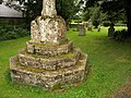 Base of cross, Kingweston - geograph.org.uk - 1014234.jpg