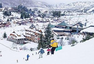 Cerro Catedral - Image: Basecat