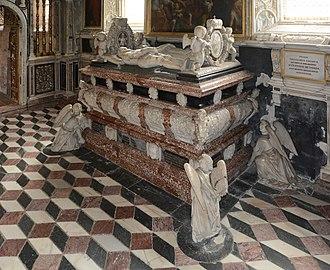 "Charles II, Archduke of Austria - Seckau Abbey, ""Habsburg mausoleum"", cenotaph"
