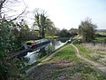 Basingstoke Canal from Colt Hill Bridge - geograph.org.uk - 1209137.jpg