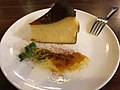 Basque-style cheesecake in Pepito, Tokyo.jpg