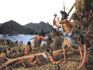 Russian colonization of the Americas - The Battle of Sitka (1804) played a pivotal role in the history of the Tlingit people and the formation of Russian Alaska. The site of the battle now forms Sitka National Historical Park, the oldest national park in Alaska.