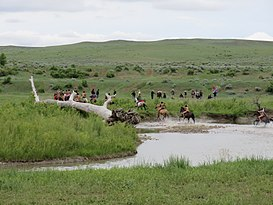 Battle of the Little Bighorn Reenactment 2013 (Crow Agency, Montana) 010.jpg