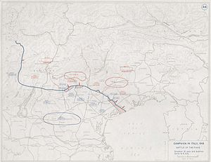 Second Battle of the Piave River - Image: Battle of the Piave River 1918