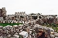 Batuta (باطوطة), Syria - Unidentified structures (foreground), 4th c. church (background), view from the south - PHBZ024 2016 8812 - Dumbarton Oaks.jpg