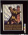 Bayerische Volkspartei. Christliches Volk! Darf Spartakus deine Kirchen niederreissen? Gib Antwort am Wahltag! LCCN2004666128.jpg