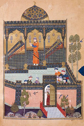 Shahnameh - Faramarz, son of Rostam, mourns the death of his father, and of his uncle, Zavareh.