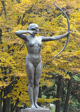 The Archer (Lepcke) - View in Jan Kochanowski Park