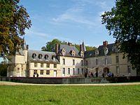 Beaurepaire (60), château, vue d'ensemble depuis le nord-ouest.jpg