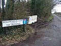 Beggarshouse Lane Road End - geograph.org.uk - 1752260.jpg