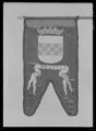 Begravningsbanér, Weldens, förd i Karl X Gustavs begravningståg 1660 - Livrustkammaren - 78900.tif