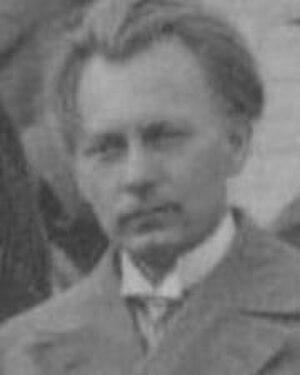 Heinrich Behmann - Heinrich Behmann, 1930 at Jena
